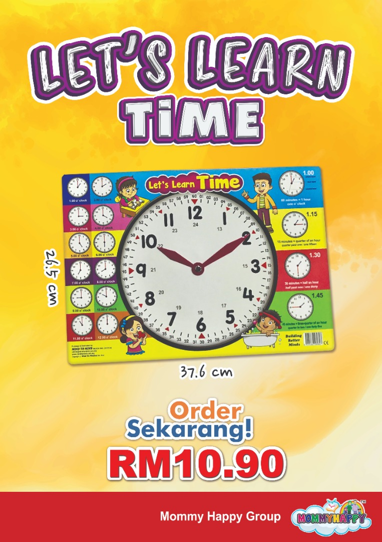 LETS LEARN TIME
