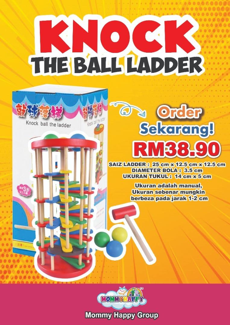 FEBET01-KNOCK THE BALL LADDER