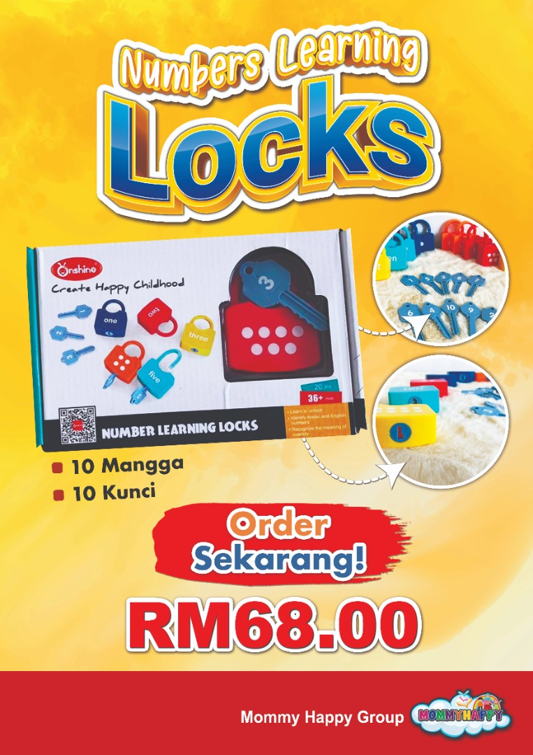 ET104- NUMBERS LEARNING LOCK