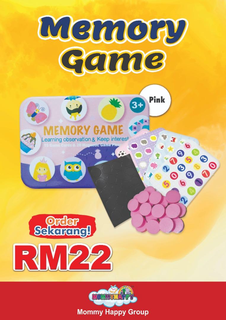 Memory games (Box Pink)